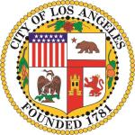 Aufkleber Los Angeles Seal Siegel