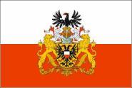 Aufkleber Lübeck mit großem Wappen