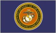 Fahne US Marine Navy 90 x 150 cm