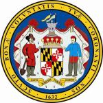 Aufkleber Maryland Siegel Seal