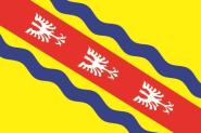 Flagge Meurthe et Moselle Department