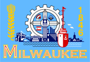 Flagge Milwaukee