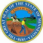 Aufkleber Minnesota Siegel Seal