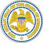 Aufkleber Mississippi Siegel Seal