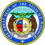 Aufkleber Missouri Siegel Seal