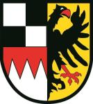 Aufkleber Mittelfranken Wappen