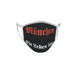 Gesichtsmaske Behelfsmaske Mundschutz München ein Leben lang