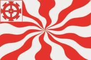 Flagge Mulhouse Elsass