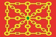 Flagge Navarre Provinz
