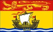 Flagge New Brunswick