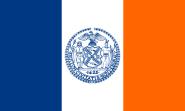 Flagge New York City
