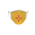 Gesichtsmaske Behelfsmaske Mundschutz New Mexico