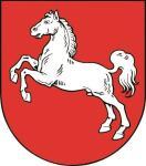 Aufkleber Niedersachsen Wappen