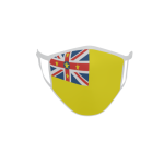 Gesichtsmaske Behelfsmaske Mundschutz Niue