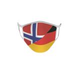 Gesichtsmaske Behelfsmaske Mundschutz Norwegen-Deutschland