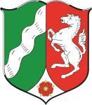 Aufkleber Nordrhein - Westfalen Wappen