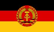 Flagge DDR NVA