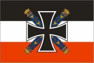 Flagge Deutsches Reich Kaiserreich Oberbefehlshaber der Streitkräfte in China