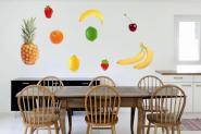 Wandtattoo Obst-Set Fotografie