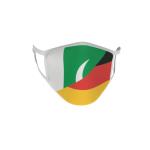 Gesichtsmaske Behelfsmaske Mundschutz Pakistan-Deutschland