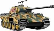 Aufkleber Panther Panzer