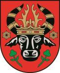 Aufkleber Parchim Wappen