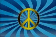 Aufnäher Patch Peace Motiv Nr. 14  9 x 6 cm