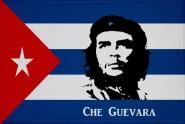 Aufnäher Patch Kuba mit Che Guevara 9 x 6 cm