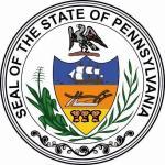 Aufkleber Pennsylvania Siegel Seal