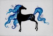 Aufnäher Pferd Motiv Nr. 39 Patch 9 x 6 cm