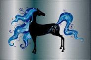 Aufnäher Pferd Motiv Nr. 40 Patch 9 x 6 cm