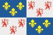 Aufkleber Picardie Provinz