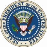 Aufkleber US President Präsident Siegel Seal