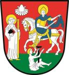 Aufkleber Rüdesheim Wappen