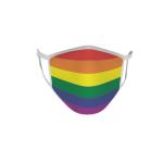 Gesichtsmaske Behelfsmaske Mundschutz Regenbogen
