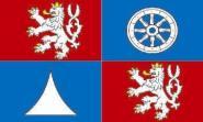 Flagge Reichenberg Region