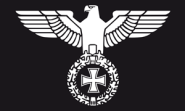 Fahne Reichsadler 90 x 150 cm