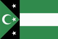 Flagge Republik Gumuljina Westthrakien