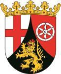 Aufkleber Rheinland - Pfalz Wappen