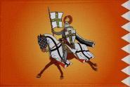 Aufnäher Patch Ritter Motiv Nr. 34  9 x 6 cm