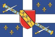 Flagge Sainte - Foy City Quebec