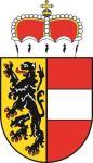 Aufkleber Salzburg Wappen