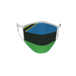 Gesichtsmaske Behelfsmaske Mundschutz Sansibar