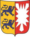 Aufkleber Schleswig - Holstein Wappen 9 x 11 cm