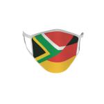 Gesichtsmaske Behelfsmaske Mundschutz Südafrika-Deutschland L