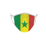 Gesichtsmaske Behelfsmaske Mundschutz Senegal