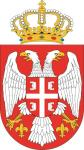 Aufkleber Serbien Wappen