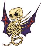 Aufkleber Pirat Totenkopf Skull Motiv Nr. 2