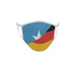 Gesichtsmaske Behelfsmaske Mundschutz Somalia-Deutschland
