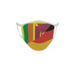 Gesichtsmaske Behelfsmaske Mundschutz Sri Lanka-Deutschland